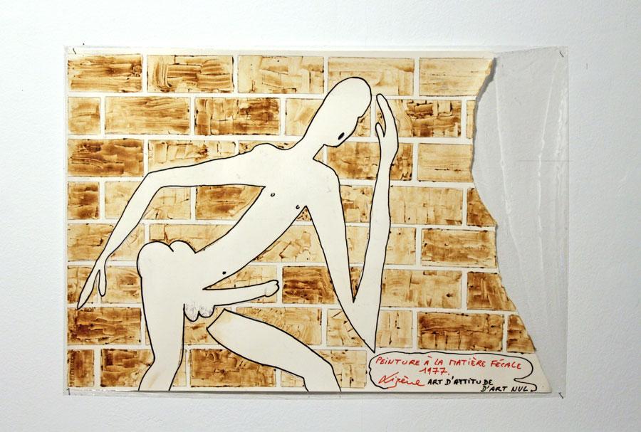 Jacques Lizène - Peinture à la matière fécale en remake