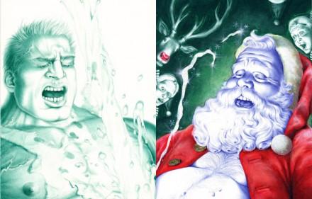 Cary-Kwok-2009-Here-Cums-Santa
