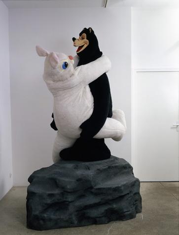 Bear & Rabbit on a Rock 1992